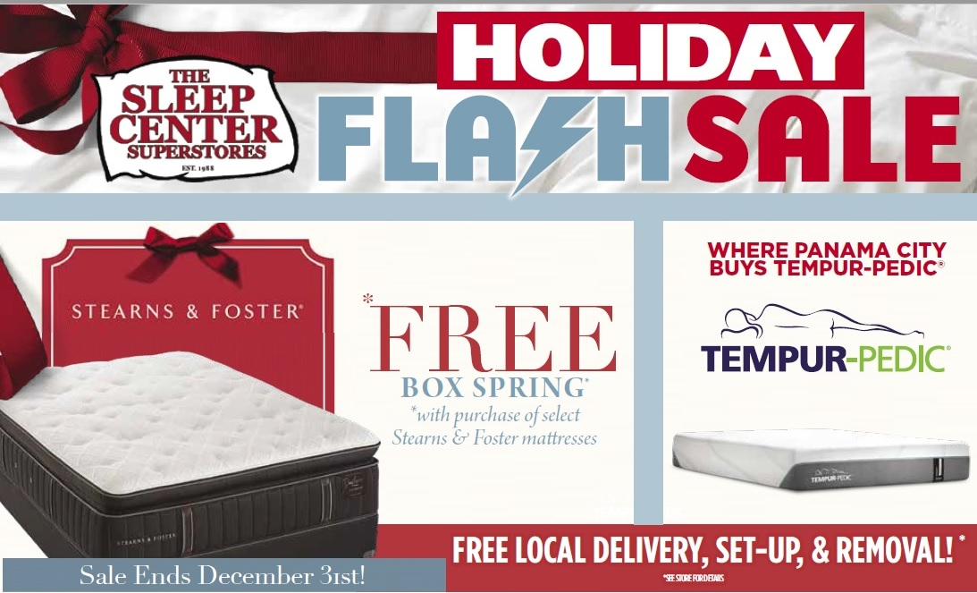 Stearns & Foster Flash Sale