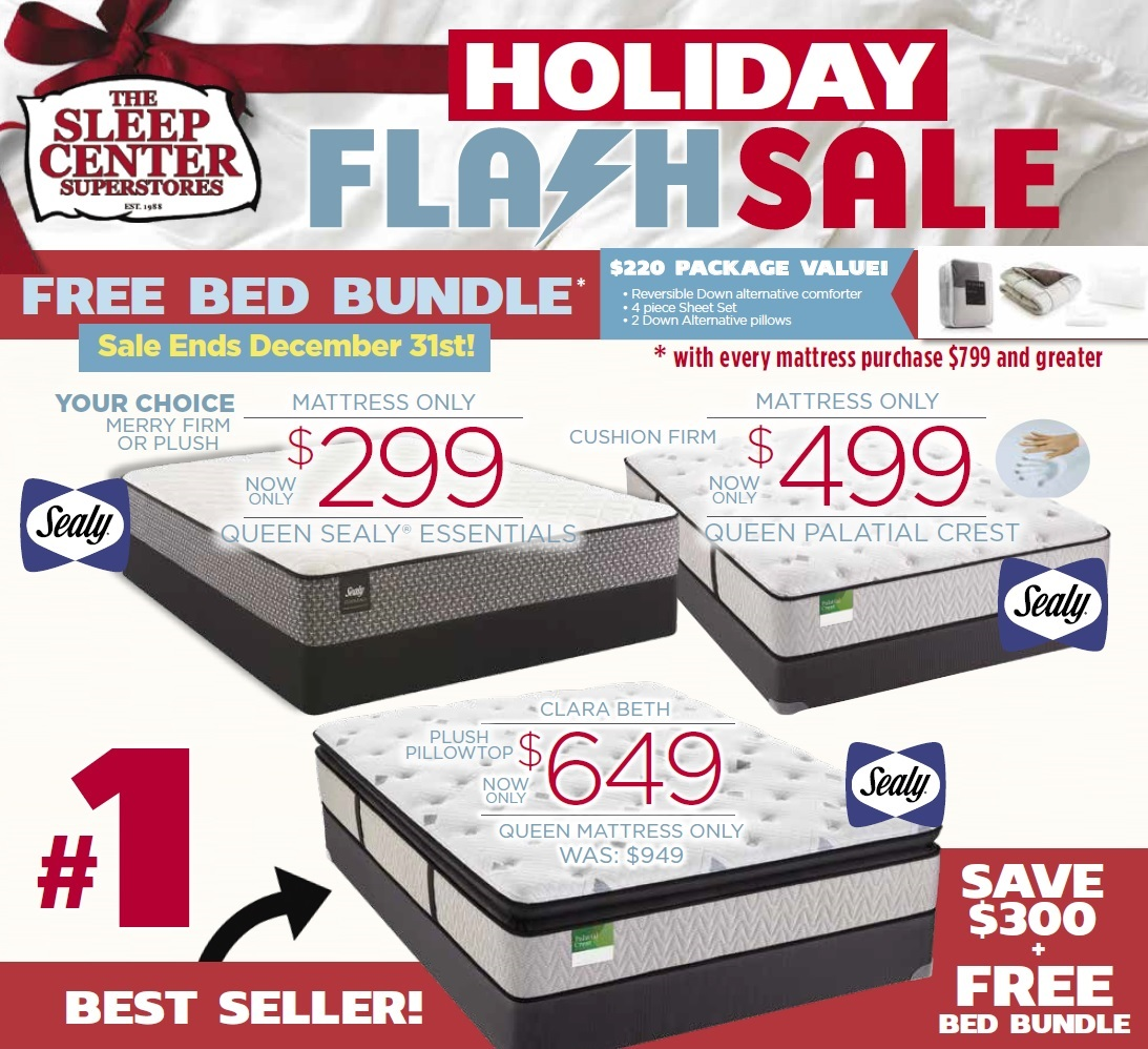 Sealy Flash Sale